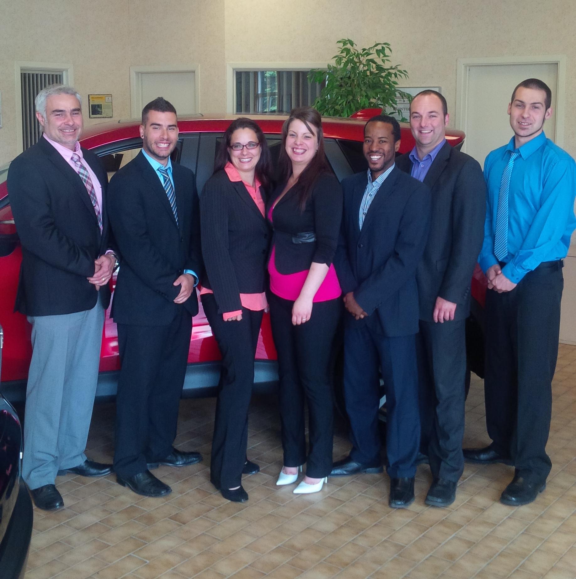 Nos derniers gradu s de la formation la vente automobile for Bureau pro drummondville