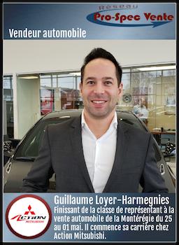 Guillaume Loyer-Harmegnies - Vendeur automobile chez Action Mitsubishi
