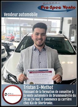 Tristan S-Methot - Vendeur automobile chez Kia de Sherbrooke